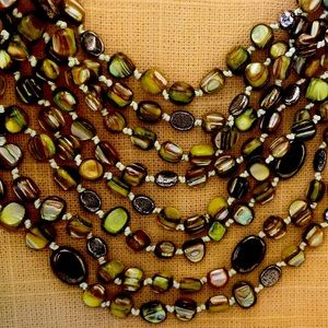Silpada mother of pearls necklace